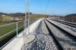 Section  Dolga Gora–Poljčane; bridge in km 556+700