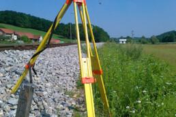 Geodetske meritve TIRING – signalizacija poligonske točke
